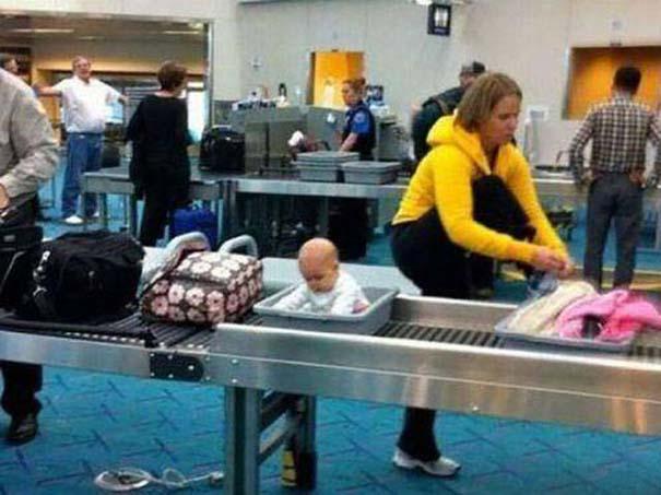 Περίεργα και αστεία σκηνικά στο αεροδρόμιο (3)