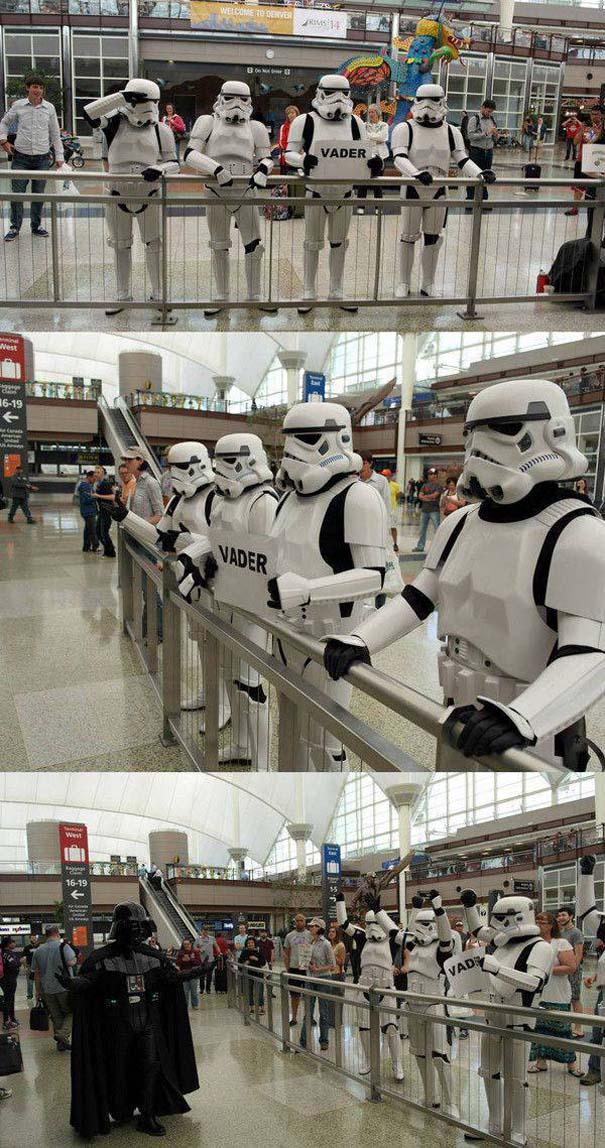 Περίεργα και αστεία σκηνικά στο αεροδρόμιο (8)