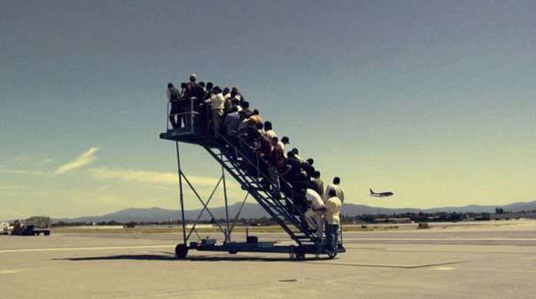 Περίεργα και αστεία σκηνικά στο αεροδρόμιο (17)