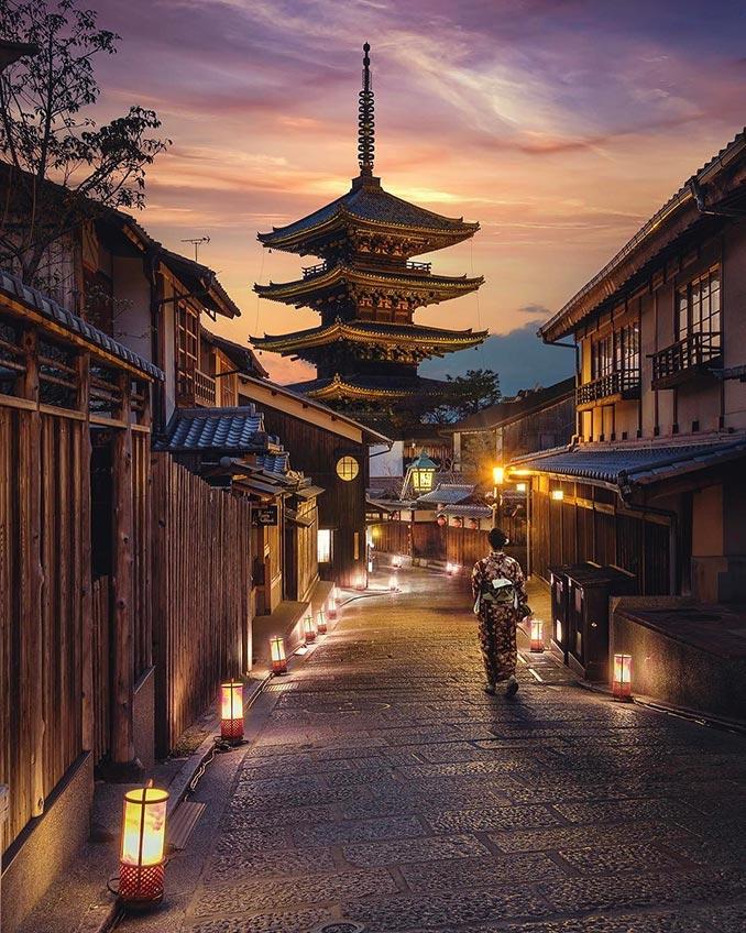 Περιπλάνηση στο Κιότο της Ιαπωνίας | Φωτογραφία της ημέρας
