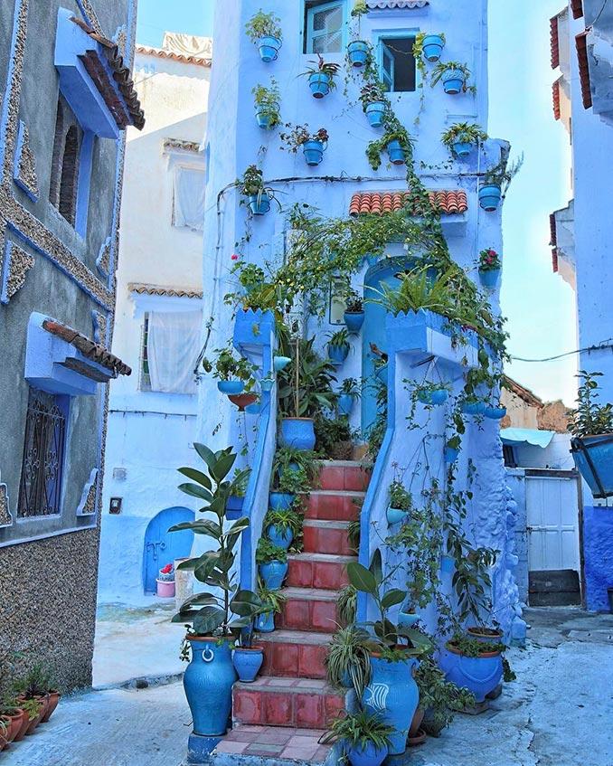 Μια γωνιά στο Μαρόκο που μοιάζει βγαλμένη από πίνακα ζωγραφικής | Φωτογραφία της ημέρας