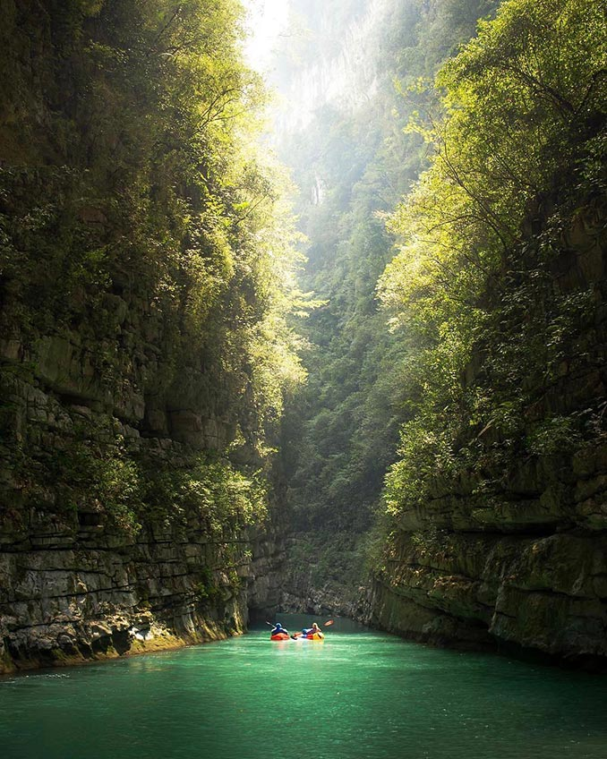 Rafting σε ένα μυστικό παράδεισο | Φωτογραφία της ημέρας