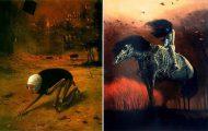 Πολωνός ζωγράφος έμαθε να «φωτογραφίζει όνειρα» και τα έργα του προκαλούν εφιάλτες (19)