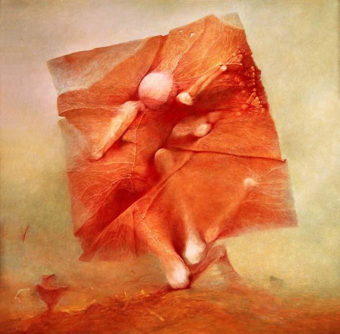 Πολωνός ζωγράφος έμαθε να «φωτογραφίζει όνειρα» και τα έργα του προκαλούν εφιάλτες (2)