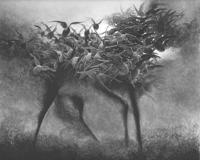 Πολωνός ζωγράφος έμαθε να «φωτογραφίζει όνειρα» και τα έργα του προκαλούν εφιάλτες (7)