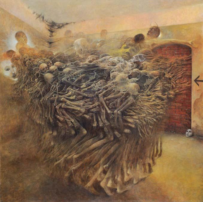 Πολωνός ζωγράφος έμαθε να «φωτογραφίζει όνειρα» και τα έργα του προκαλούν εφιάλτες (18)