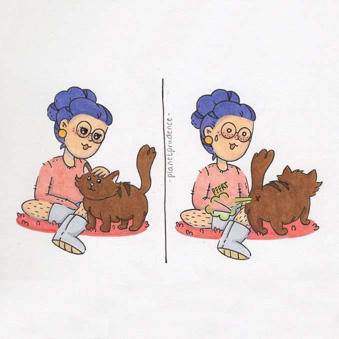 19 ακόμη χιουμοριστικά σκίτσα δείχνουν πως είναι να είσαι κορίτσι στον τρελό κόσμο μας (2)