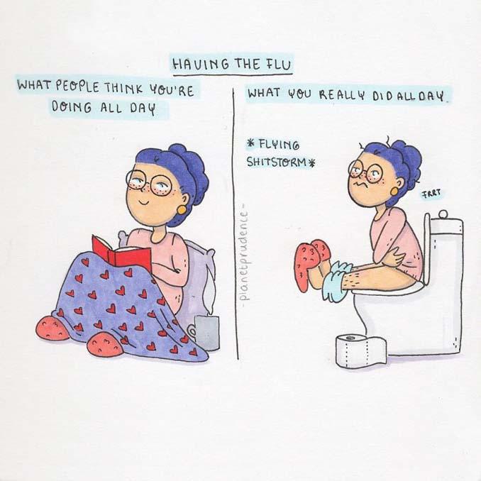 19 ακόμη χιουμοριστικά σκίτσα δείχνουν πως είναι να είσαι κορίτσι στον τρελό κόσμο μας (7)