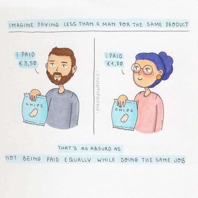 19 ακόμη χιουμοριστικά σκίτσα δείχνουν πως είναι να είσαι κορίτσι στον τρελό κόσμο μας (9)