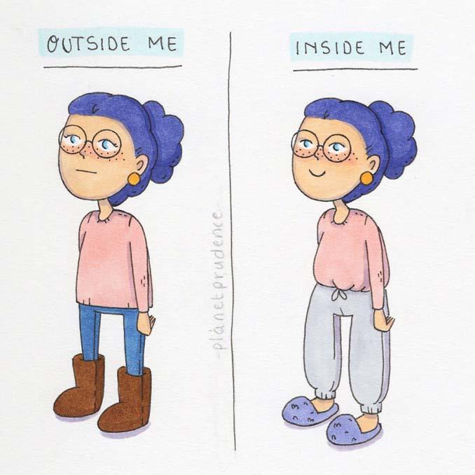 19 ακόμη χιουμοριστικά σκίτσα δείχνουν πως είναι να είσαι κορίτσι στον τρελό κόσμο μας (18)