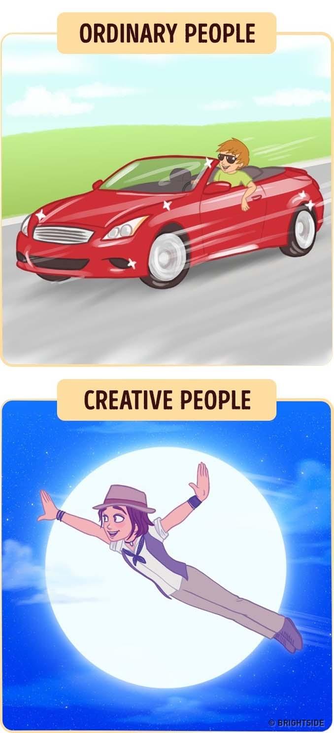 10 διασκεδαστικά σκίτσα δείχνουν πως βλέπουν τον κόσμο οι δημιουργικοί άνθρωποι (5)