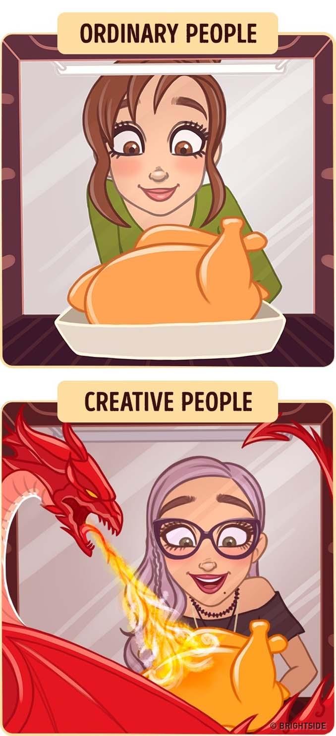 10 διασκεδαστικά σκίτσα δείχνουν πως βλέπουν τον κόσμο οι δημιουργικοί άνθρωποι (8)