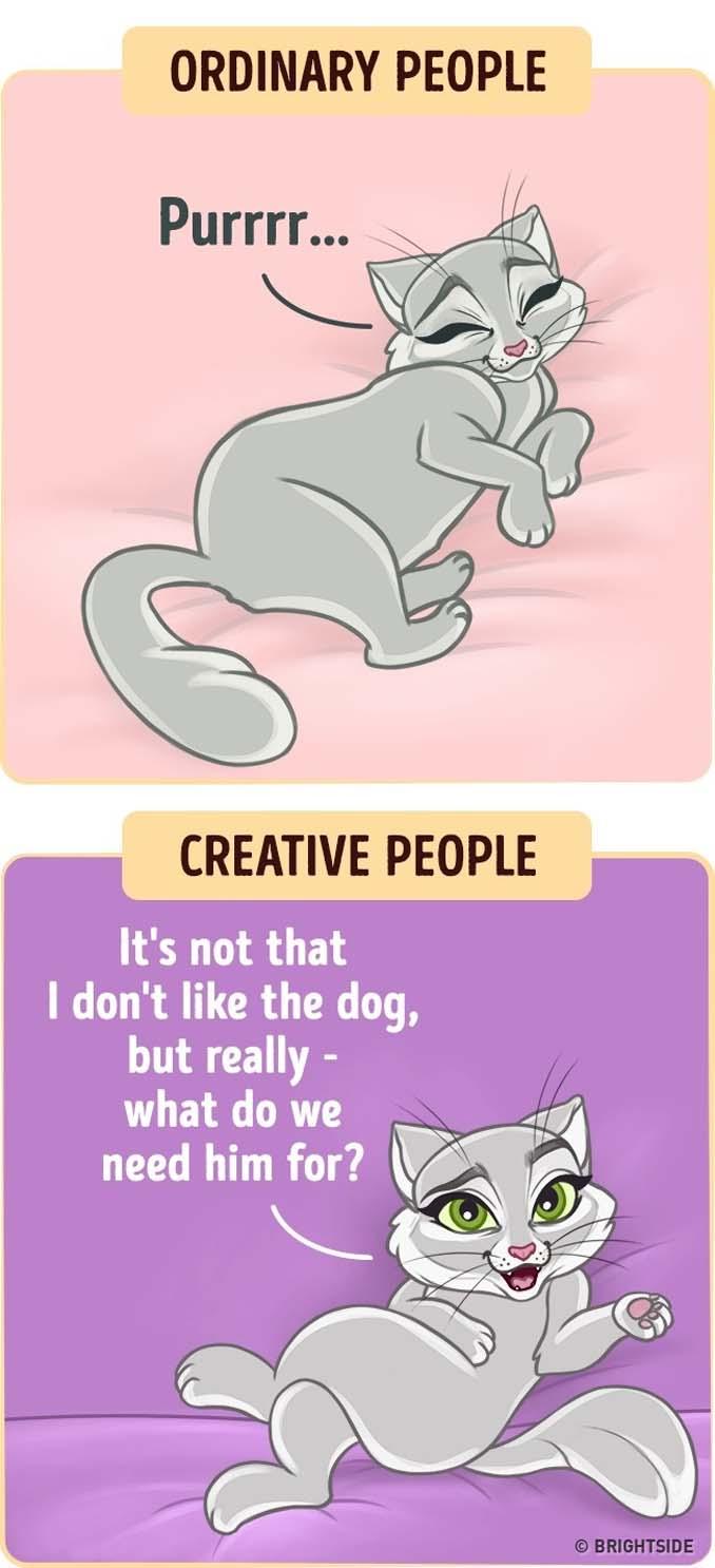 10 διασκεδαστικά σκίτσα δείχνουν πως βλέπουν τον κόσμο οι δημιουργικοί άνθρωποι (11)