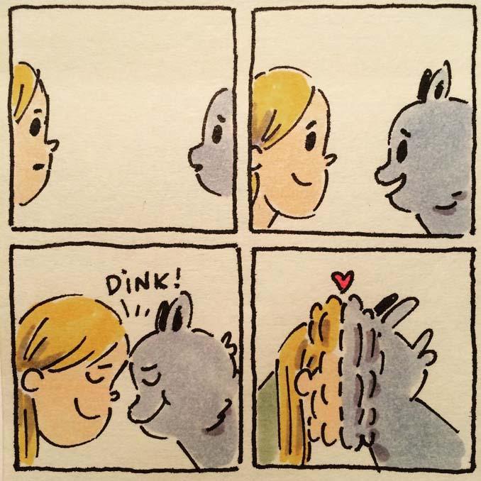 Σκιτσογράφος δείχνει πως είναι η ζωή με τις γάτες της (12)