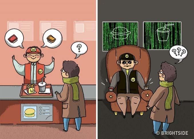 Χιουμοριστικά σκίτσα τα οποία δείχνουν συναισθήματα που συνήθως κρατάμε κρυφά (2)