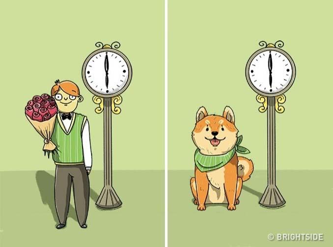 Χιουμοριστικά σκίτσα τα οποία δείχνουν συναισθήματα που συνήθως κρατάμε κρυφά (12)