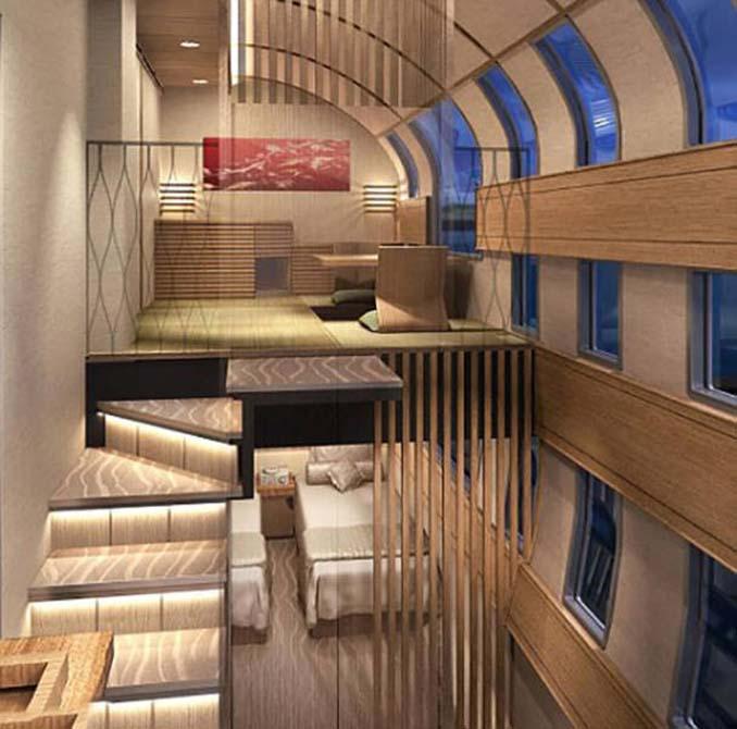 Έτσι θα είναι το πιο πολυτελές τρένο στην Ιαπωνία (6)