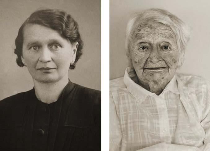 Τότε και τώρα: Φωτογραφίες ανθρώπων σε νεαρή ηλικία και μετά τα 100 τους χρόνια (2)