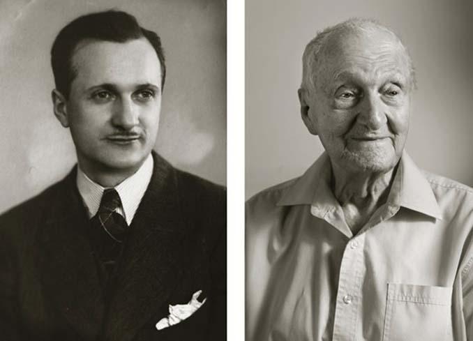 Τότε και τώρα: Φωτογραφίες ανθρώπων σε νεαρή ηλικία και μετά τα 100 τους χρόνια (3)