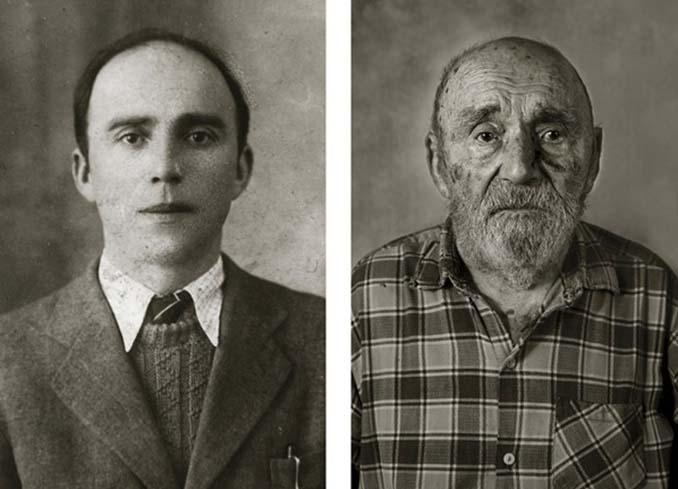 Τότε και τώρα: Φωτογραφίες ανθρώπων σε νεαρή ηλικία και μετά τα 100 τους χρόνια (11)