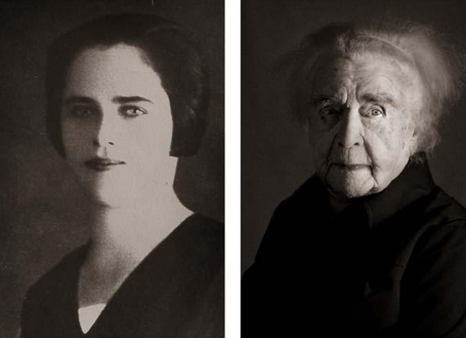Τότε και τώρα: Φωτογραφίες ανθρώπων σε νεαρή ηλικία και μετά τα 100 τους χρόνια (12)