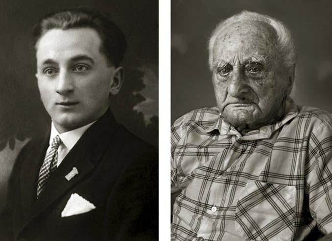 Τότε και τώρα: Φωτογραφίες ανθρώπων σε νεαρή ηλικία και μετά τα 100 τους χρόνια (13)
