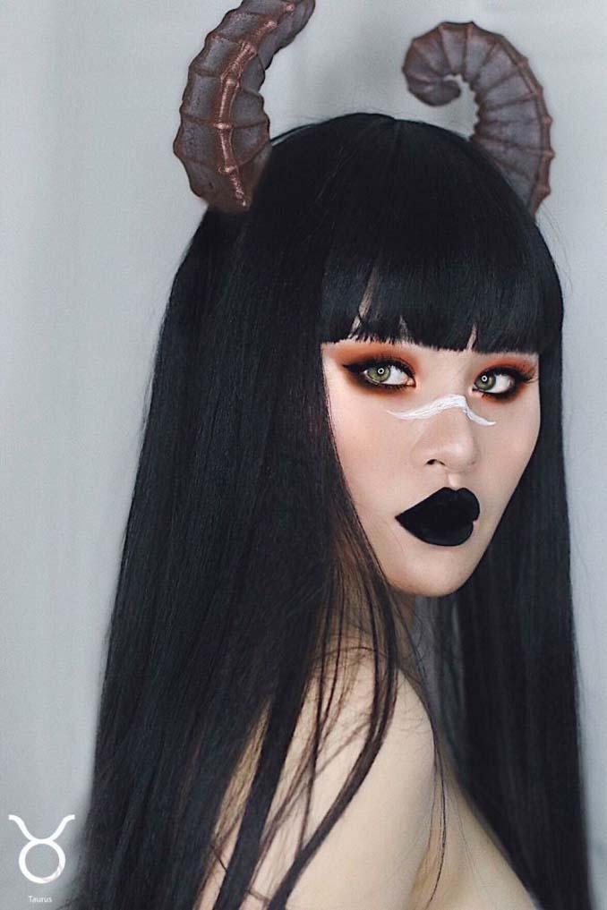 19χρονη φαντάζεται τα 12 ζώδια χρησιμοποιώντας την τέχνη του μακιγιάζ (2)