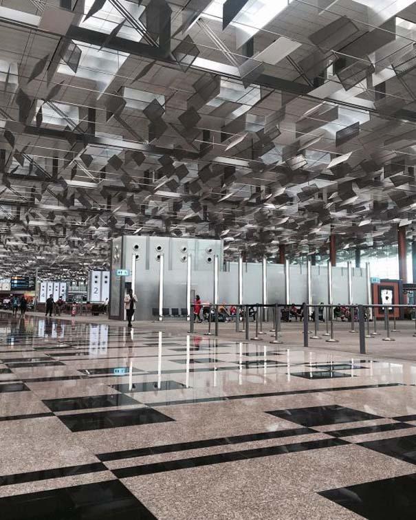 Φωτογραφική περιήγηση στο εντυπωσιακό αεροδρόμιο Changi της Σιγκαπούρης (2)