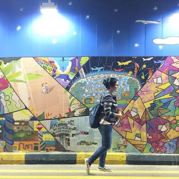 Φωτογραφική περιήγηση στο εντυπωσιακό αεροδρόμιο Changi της Σιγκαπούρης (24)
