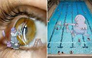 Καρτουνίστας εμπλουτίζει φωτογραφίες εισάγοντας πλάσματα της φαντασίας του (24)