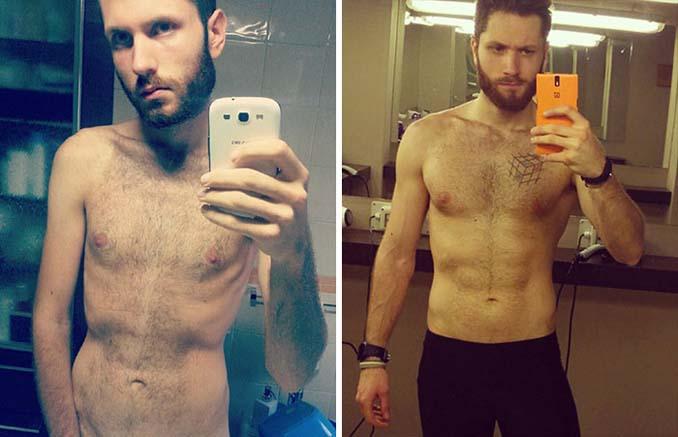 Πριν και Μετά - Εκπληκτικές φωτογραφίες ανθρώπων που νίκησαν την ανορεξία (2)