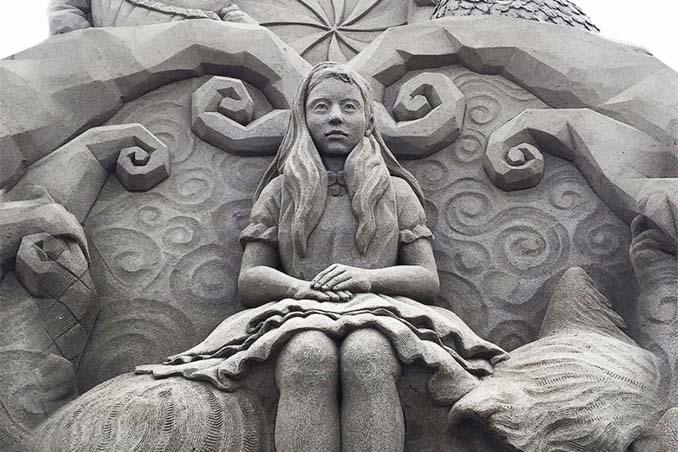 Εκπληκτική τέχνη στην άμμο από τον Toshihiko Hosaka (1)