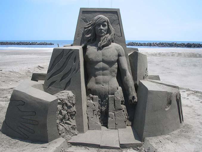 Εκπληκτική τέχνη στην άμμο από τον Toshihiko Hosaka (2)