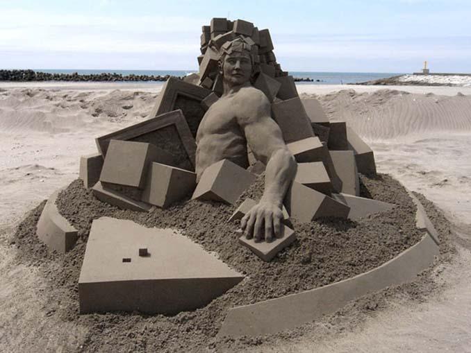 Εκπληκτική τέχνη στην άμμο από τον Toshihiko Hosaka (3)