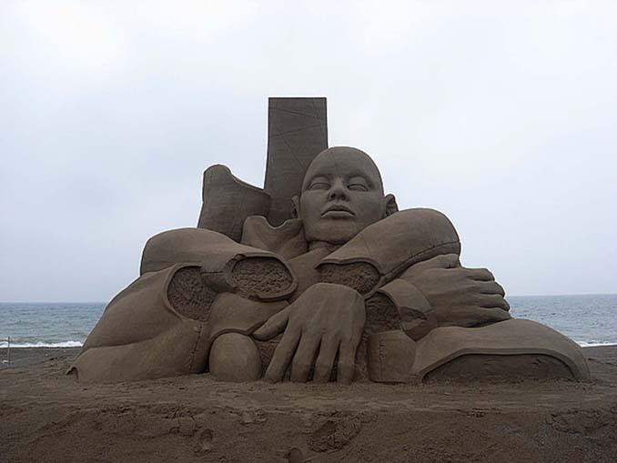 Εκπληκτική τέχνη στην άμμο από τον Toshihiko Hosaka (4)