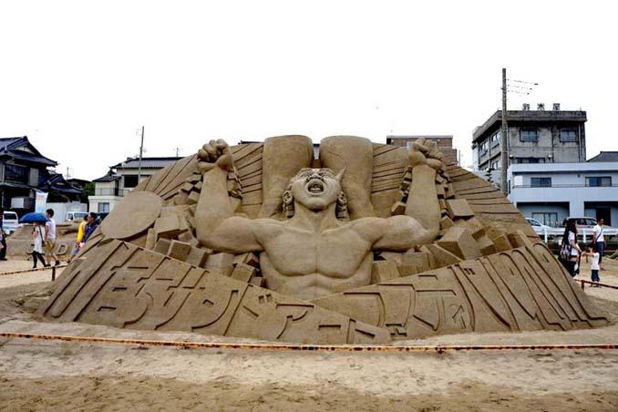 Εκπληκτική τέχνη στην άμμο από τον Toshihiko Hosaka (7)