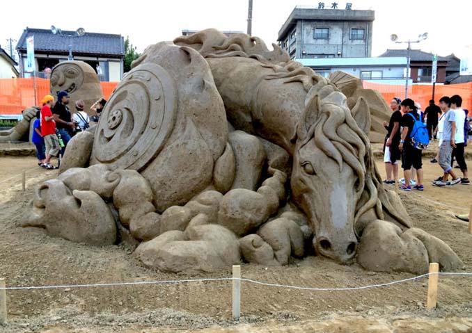 Εκπληκτική τέχνη στην άμμο από τον Toshihiko Hosaka (8)