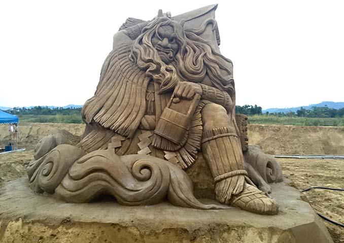 Εκπληκτική τέχνη στην άμμο από τον Toshihiko Hosaka (10)