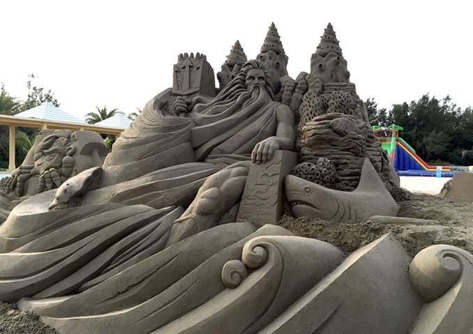 Εκπληκτική τέχνη στην άμμο από τον Toshihiko Hosaka (11)