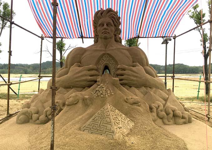 Εκπληκτική τέχνη στην άμμο από τον Toshihiko Hosaka (15)