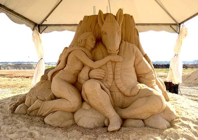 Εκπληκτική τέχνη στην άμμο από τον Toshihiko Hosaka (16)