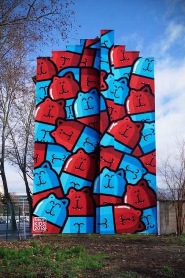 Έργα τέχνης στο δρόμο που τραβούν την προσοχή με την πρώτη ματιά (12)