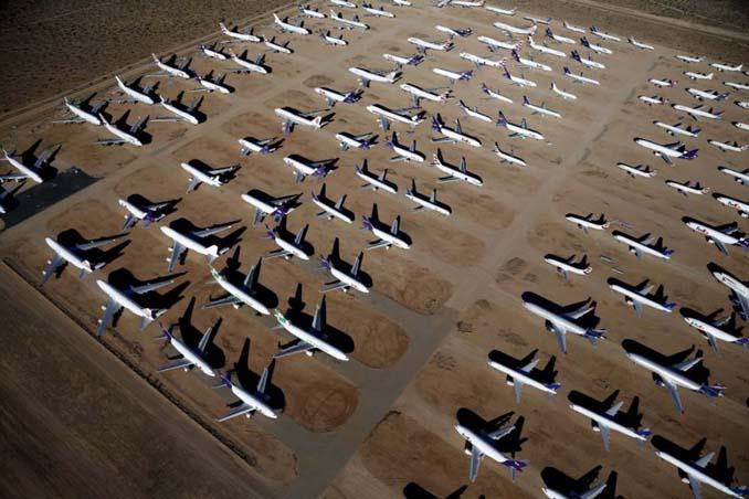 Ένα γιγαντιαίο νεκροταφείο αεροσκαφών στην έρημο της Καλιφόρνια (2)