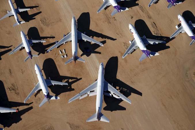 Ένα γιγαντιαίο νεκροταφείο αεροσκαφών στην έρημο της Καλιφόρνια (14)