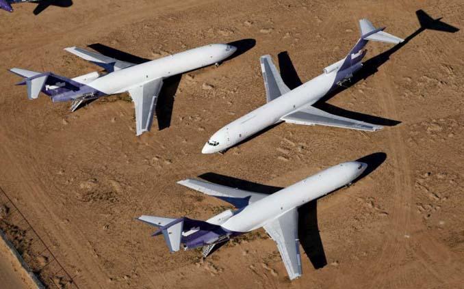 Ένα γιγαντιαίο νεκροταφείο αεροσκαφών στην έρημο της Καλιφόρνια (18)