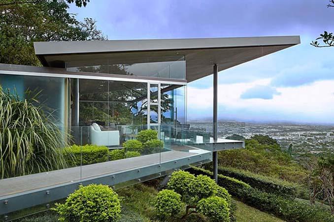 Γυάλινο σπίτι με απίστευτη θέα στην Κόστα Ρίκα (2)