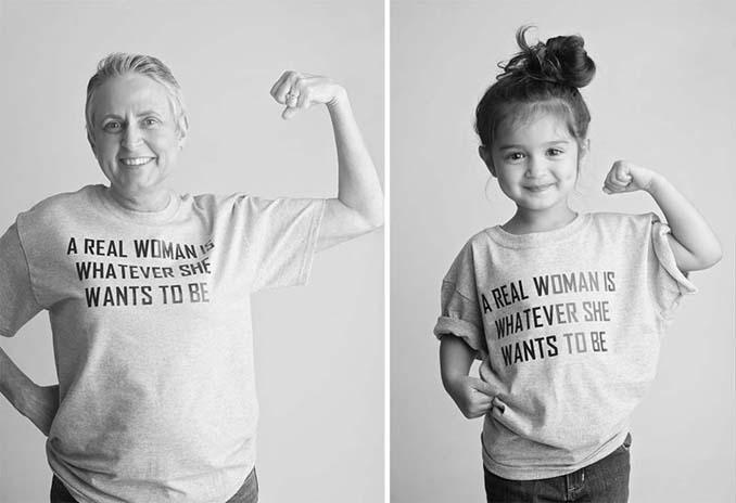 Κοριτσάκι 3 ετών μεταμορφώνεται σε διάσημες γυναίκες για να στηρίξει την άρρωστη γιαγιά της (4)