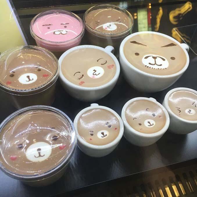 Κορεάτης barista μετατρέπει κούπες καφέ σε απίστευτα έργα τέχνης (5)