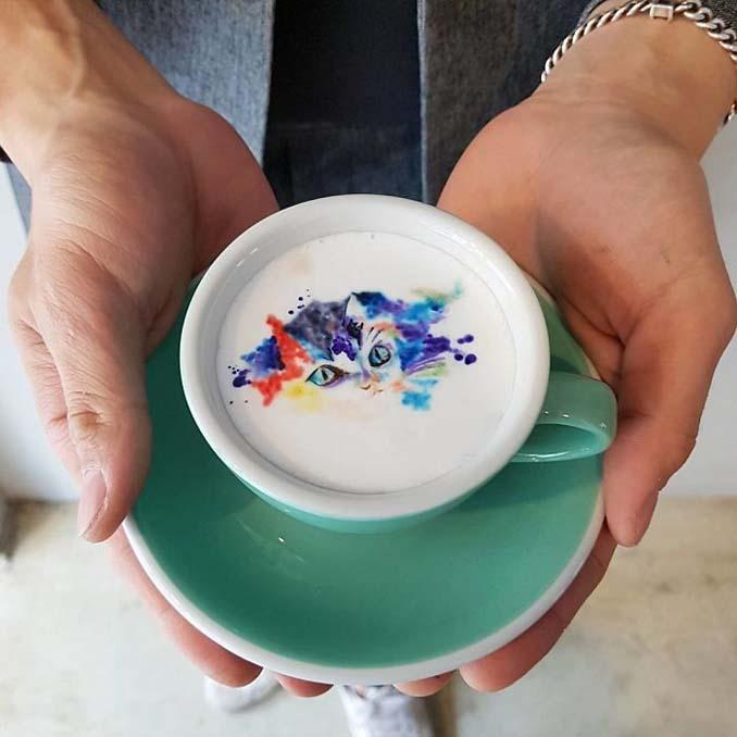 Κορεάτης barista μετατρέπει κούπες καφέ σε απίστευτα έργα τέχνης (14)