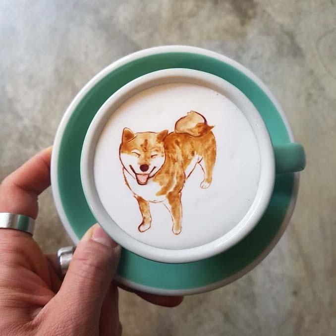 Κορεάτης barista μετατρέπει κούπες καφέ σε απίστευτα έργα τέχνης (18)
